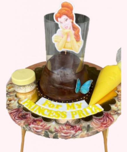 Pull me up doll cake for online delivery