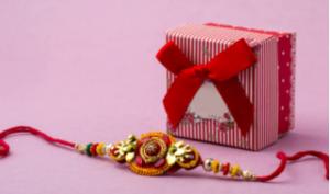 Rakhi and a gift